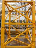 Grue à tour de dispositif de relevage avec le chargement de 6 tonnes