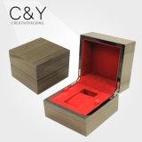 Cadre en bois de tiroir de fini mat de la Chine pour la montre