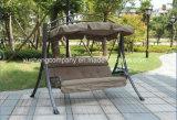 Cadeira de luxe do balanço do jardim de 3 Seater