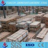 Feuille de plaque d'alliage d'aluminium 3003 1060 pour la décoration de construction