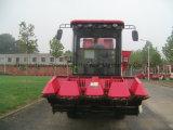 Maquinaria de colheita de quatro fileiras para a colheita do milho