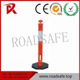 1100mm Rubber Base Reflective Road T Top Warning Post