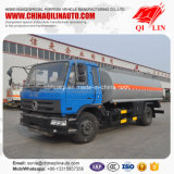 Caminhão de petroleiro opcional do combustível do aço de carbono/aço inoxidável