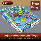2015 coût bas Luxury Design Kids Indoor Playground pour Park avec Certificate