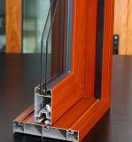 Perfil de aluminio de aluminio superior de la ventana de la puerta