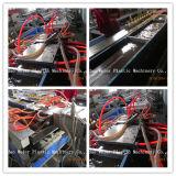 Decking de WPC/painel da cerca/parede/borne plásticos de madeira que faz a máquina do perfil da máquina WPC