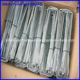 中国からの最上質の金属Uのタイプ泥炭の釘の芝地のステープル