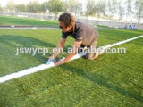 Relvado artificial de vista natural da venda quente para o jardim de infância com bom sustento Cg/SGS Wy-12 aprovado da cor