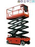 Scissor-Tipo piattaforma di funzionamento aerea (motore idraulico)