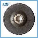 Muela abrasiva de la solapa para la placa de apoyo plástica del acero inoxidable