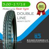 Reifen 3.00-17 des Motocicle Motorrad-Gummireifen-Reifen-Roller-Gummireifen Keke Reifen-inneren Gefäß-ATV