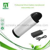 Pak van de Batterij van de Fles van de Fiets van de Stad van het lithium 250W 36V 8ah het Elektrische met Lader 2A