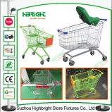 Baby SeatのショッピングMall Metal Shopping Cart Trolley