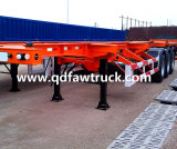 40ft Skeleton Container Semi Trailer