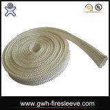 Chemise tressée Temperasture élevé de résistance thermique de fibre de silice