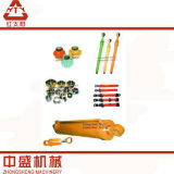 Cilindro hidráulico modificado para requisitos particulares para la maquinaria de construcción