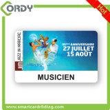 tarjetas inteligentes sin contacto clásicas modificadas para requisitos particulares 1k de la impresión 13.56MHz MIFARE