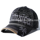 Algodón 100% 3D Embroidery Outdoor Sport Baseball Hat