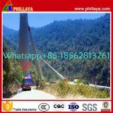 360 Semi Aanhangwagen van het Vervoer van het Blad van de Turbine van de Wind van de graad de Draaibare voor de Generator van de Wind