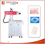Gravura do laser do CO2 e máquina de couro da marcação
