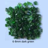 Grüne Farben-Glasraupen für Dekoration