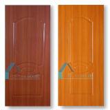 광택 있는 3mm/4.2mm 멜라민 또는 매트 HDF MDF에 의하여 주조되는 문 피부