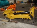 1.5t pouce hydraulique d'excavatrice de l'excavatrice 80t fonctionnant avec la position d'excavatrice