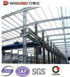Entrepôt préfabriqué de structure métallique de retrait