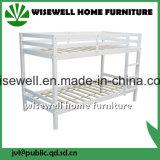 단단한 소나무 백색 2단 침대