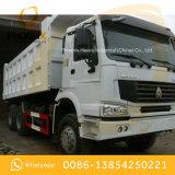 Tipper usado 6X4 do caminhão de descarga 336hpp das rodas de HOWO 10 com muito boas condições e baixo preço