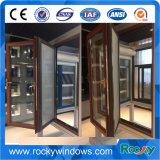 Ventana de aluminio de los cuadros calientes y ventana del marco de la buena calidad de la puerta