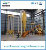 엔지니어 가이드는 판매를 위한 옥수수 줄기 펠릿 기계를 설치한다