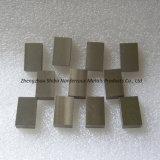 99.95% Placas puras del tungsteno, el mejor cubo del tungsteno del precio