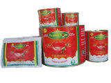 2 anos Prazo de validade e Canned Estilo pasta de tomate Domtomate
