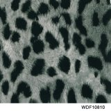 Kingtop 1m Film Wdf10810 van het Af:drukken van Aqua van het Ontwerp van de Huid van de Breedte Dierlijke