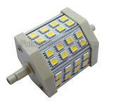 diodo emissor de luz Floodlight de 15W R7s a Replace Halide Lamp (5050 72PCS diodo emissor de luz 189mm)