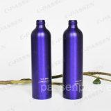 Bouteille en aluminium de lotion de shampooing de couleur faite sur commande avec la pompe de lotion (PPC-ACB-066)