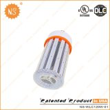 120W Dlc Listed Post Top LED Lampe de maïs