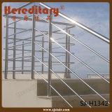 De muur zette het Traliewerk van de Draad van de Kabel van het Terras van Roestvrij staal 304 (op sj-H1128)