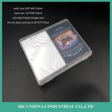 Caixa de empacotamento de PP de 115 * 94 * 17mm para cartão de ponte de 2 pavimentos
