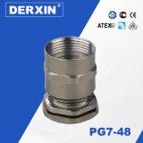Presse-étoupe de câble interne direct en métal de noix d'amorçage des ventes Pg7-Pg48 d'usine