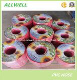PVCプラスチック高圧管のホースの空気スプレーの管の管