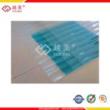 Polycarbonat des gewölbten Blattes für Baumaterial mit 10 Jahren Garantie-und Fabrik-Preis