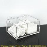 Caja plástica de acrílico clara del rectángulo/del plexiglás/rectángulo de almacenaje de acrílico