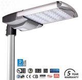 Indicatore luminoso di via del LED/lampada, indicatore luminoso della strada del LED, chip di Meanwell, garanzia 5