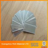лист зеркала PMMA 1mm 2mm 3mm серебряный пластичный акриловый для вырезывания