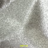 Aperfeiçoar o couro de sapatas artificial da grão do Glitter com material do plutônio