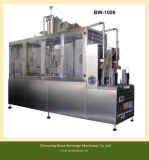 Cold Fill Leite / Hot Fill Juice Gable Top Carton Packing Machines