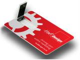 USB кредитной карточки визитной карточки печатание полного цвета