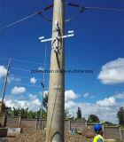 Corchete del almacenaje del cable para poste/la torre